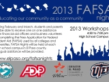 Dates set for free workshops to help El Pasoans fill out Federal Student Aid application