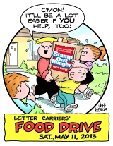 El Pasoans asked to 'Fill a Bag, Feed a Family' Saturday, May 11 during citywide fooddrive