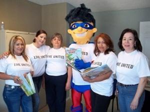 Superior Health employees volunteer at the Socorro Ramirez Community Center